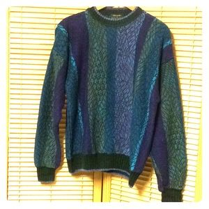 Men's Colorful Pullover Sweater